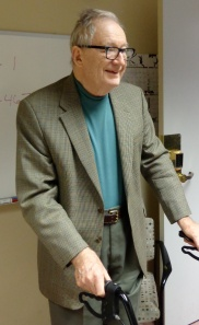 Dr Norman Guthkelch, Oct. 2012