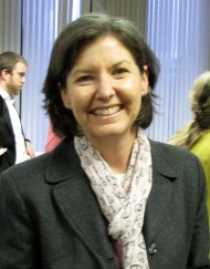 Carrie Sperling, at an Innocence Network meeting