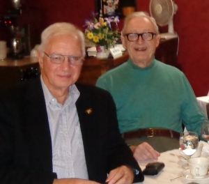 Dr. Ron Uscinski and Dr. Norman Guthkelch,October 2012