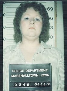 Mary Weaver, 41 years old in 1993, when accused of shaking an infant in her care