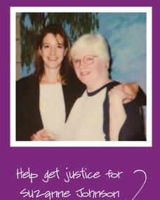 Toni Blake and Suzanne JohnsonChristmas, 2001
