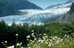 Mendenhall Glacier Juneau, Alaska