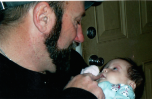 Jeff and Gracelynn Baker, 2010