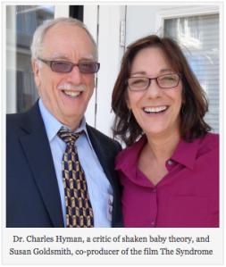 Dr. Charles Hyman and film maker Susan Goldsmith